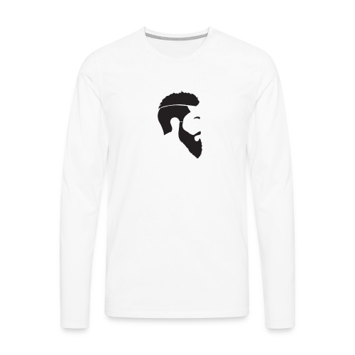 HEAD WHITE T-SHIRT - Långärmad premium-T-shirt herr