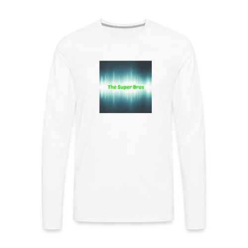The Super Bros - Standard Fan cover (i-Phone 6/6s) - Herre premium T-shirt med lange ærmer