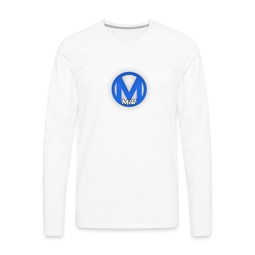 MWVIDEOS KLEDING - Mannen Premium shirt met lange mouwen