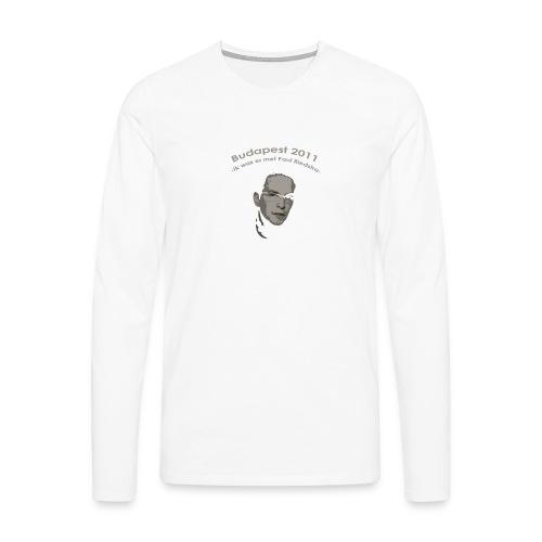 PaulRiedstraVoor - Mannen Premium shirt met lange mouwen