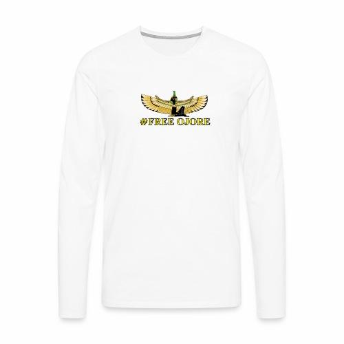 Maa-t yellow - Men's Premium Longsleeve Shirt