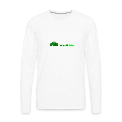 wash me - Men's Premium Longsleeve Shirt