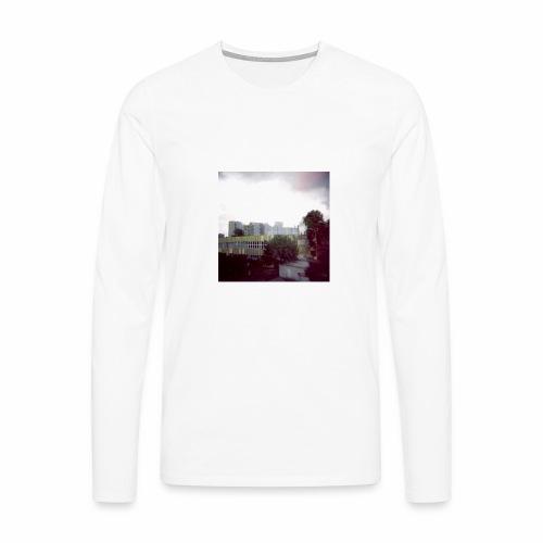 Original Artist design * Blocks - Men's Premium Longsleeve Shirt