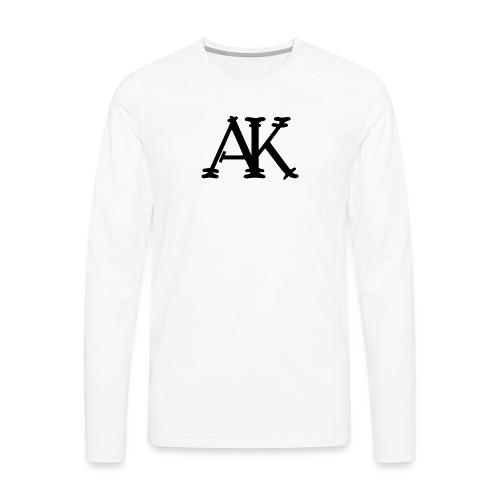 Brand logo - Mannen Premium shirt met lange mouwen