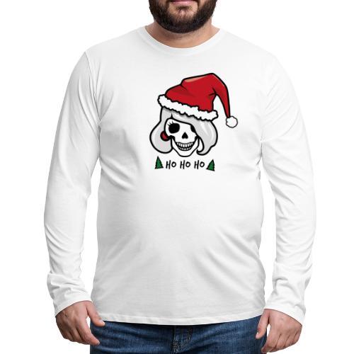 Rockabilly Weihnachten - Männer Premium Langarmshirt