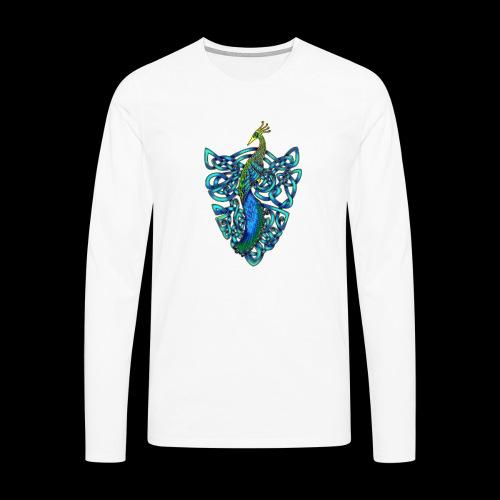 Peacock - Men's Premium Longsleeve Shirt