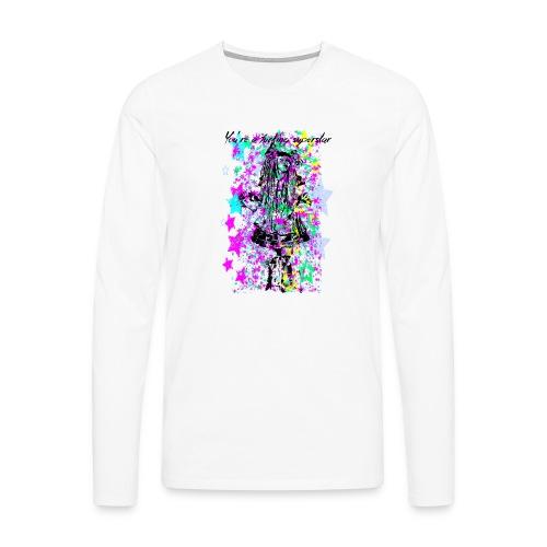 SUPERSTAR unisex - Camiseta de manga larga premium hombre