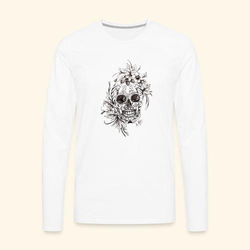 SkullDrawings - Långärmad premium-T-shirt herr