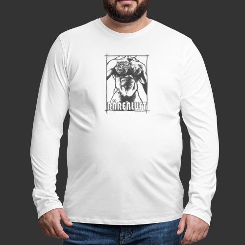 Bear Art by www.MeikeKohls.de - Männer Premium Langarmshirt