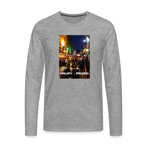 GALWAY IRELAND SHOP STREET - Men's Premium Longsleeve Shirt