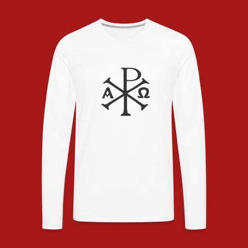 Kompasset-AP - Herre premium T-shirt med lange ærmer