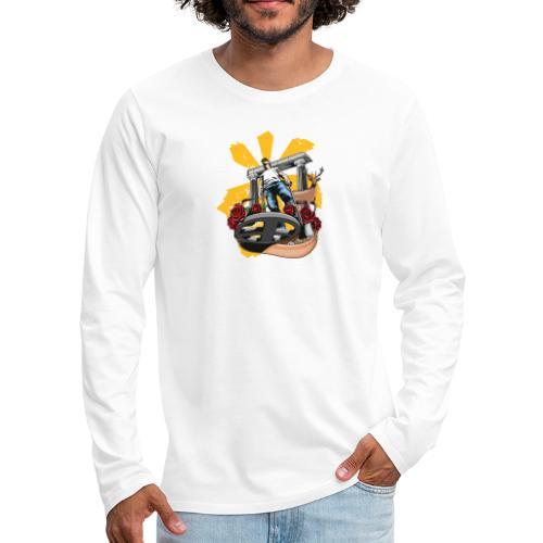 Detectorist experience - Camiseta de manga larga premium hombre