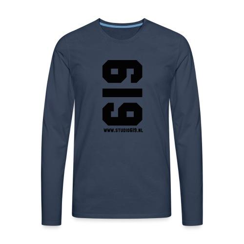 TANK TOP - Mannen Premium shirt met lange mouwen