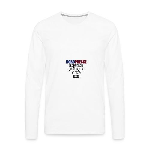 aime - T-shirt manches longues Premium Homme