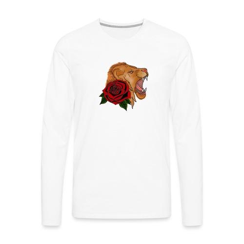 Lion - T-shirt manches longues Premium Homme