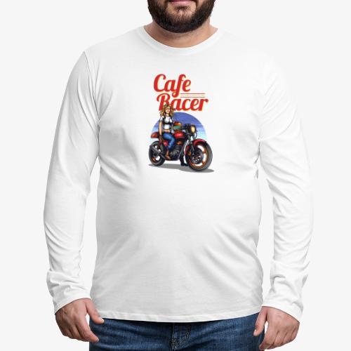 Cafe Racer - T-shirt manches longues Premium Homme