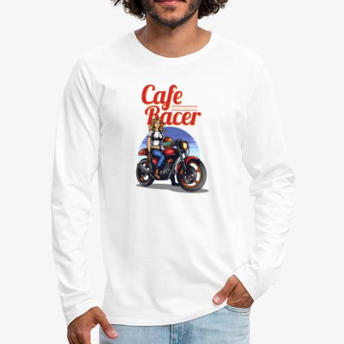 Cafe Racer - Männer Premium Langarmshirt