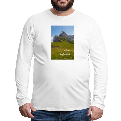 Seceda und Geisler Spitzen - Männer Premium Langarmshirt
