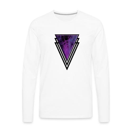 Gothic Glamour Purple Magic Halloween Goth Glam - Men's Premium Longsleeve Shirt