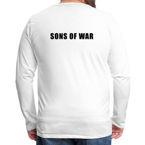 Tekst - Herre premium T-shirt med lange ærmer