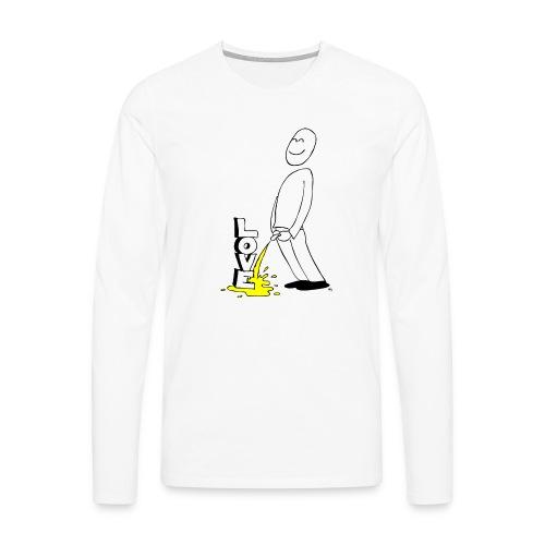tissekopp original - Premium langermet T-skjorte for menn