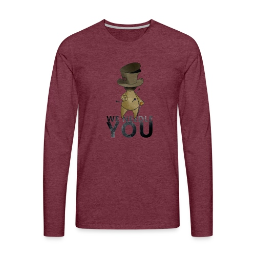 WE NEEDLE YOU - T-shirt manches longues Premium Homme