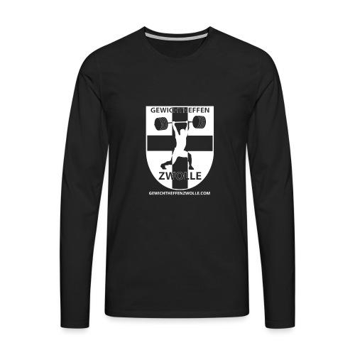 Bestsellers Gewichtheffen Zwolle - Mannen Premium shirt met lange mouwen
