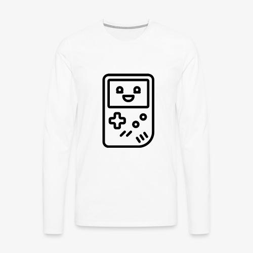 Smiling game console (black) - Men's Premium Longsleeve Shirt