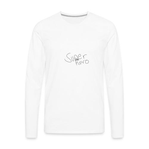 SUPERHERO - Männer Premium Langarmshirt