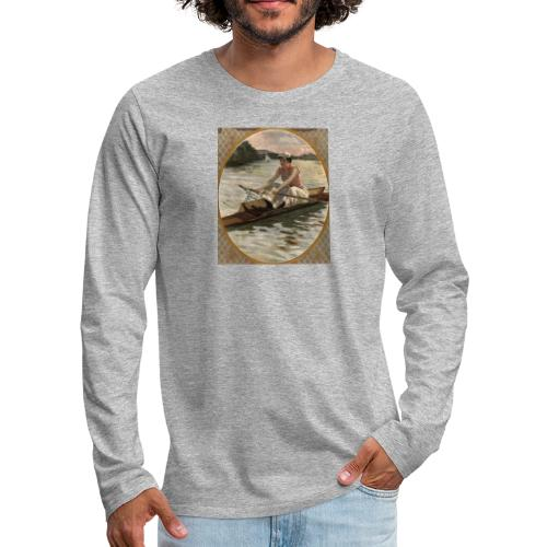 Lady Sculler - Anonyme - T-shirt manches longues Premium Homme