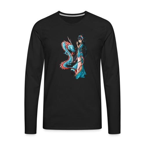 Blue Dragon - T-shirt manches longues Premium Homme