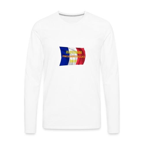 ELECTIONS 2017 - T-shirt manches longues Premium Homme