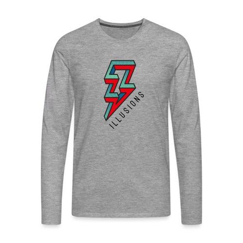 ♂ Lightning - Männer Premium Langarmshirt
