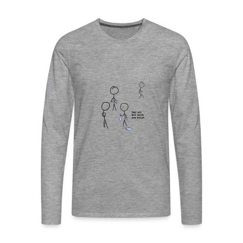 har sei png - Premium langermet T-skjorte for menn