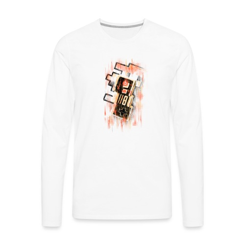 Blurry NES - Men's Premium Longsleeve Shirt