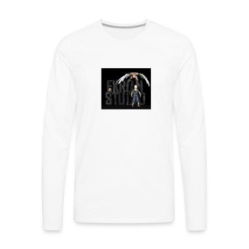 ekron studio - Långärmad premium-T-shirt herr