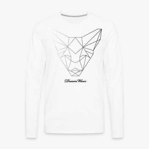 DreamWave Fox/Renard - T-shirt manches longues Premium Homme
