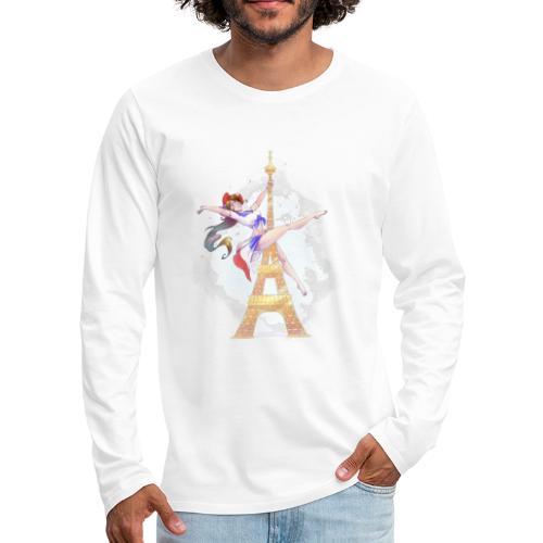 Pole Dance Marianne - T-shirt manches longues Premium Homme