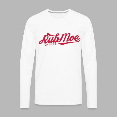 RubMoe - Premium langermet T-skjorte for menn