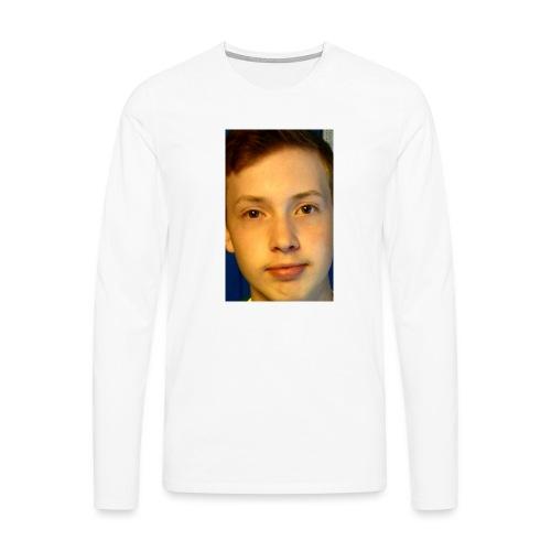 Aron Deksel 6/6s - Premium langermet T-skjorte for menn
