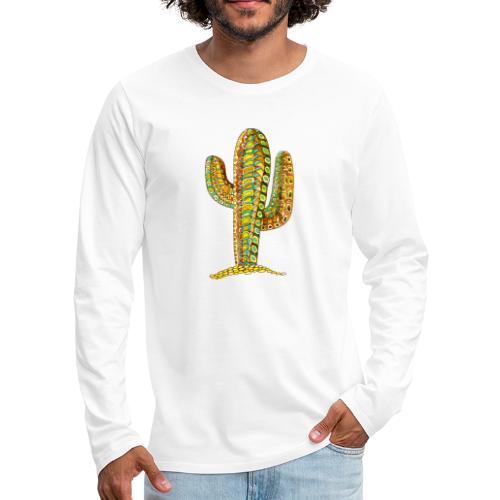 Le cactus - T-shirt manches longues Premium Homme