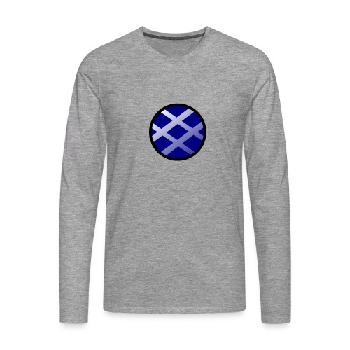 Logo církel - Men's Premium Longsleeve Shirt