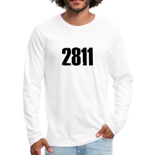 2811 - Mannen Premium shirt met lange mouwen