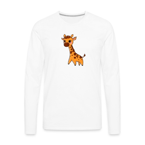 Mini Giraffe - Men's Premium Longsleeve Shirt