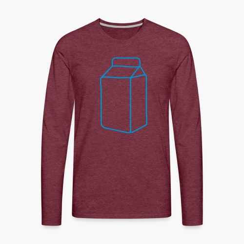 milk carton - Men's Premium Longsleeve Shirt