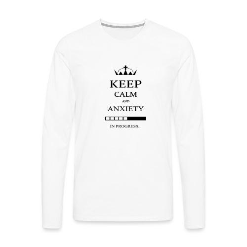 keep_calm - Maglietta Premium a manica lunga da uomo