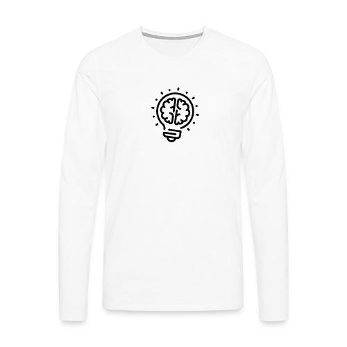 Lightbulb - Männer Premium Langarmshirt