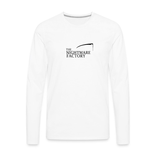 nightmare factory Nero png - Men's Premium Longsleeve Shirt