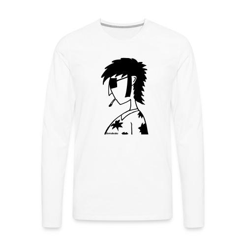 hippie - Männer Premium Langarmshirt