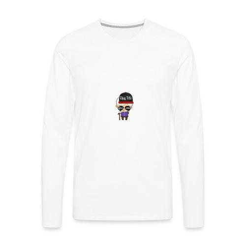 Angry Granny T-shirt - Männer Premium Langarmshirt